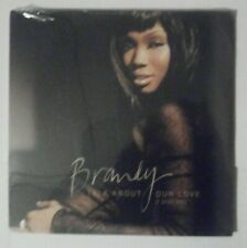 """New listing FACTORY *SEALED* BRANDY TALK ABOUT OUR LOVE 2X LP VINYL 12""""RECORD 8 TRACKS 2004"""