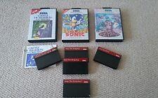 5 giochi Sega Master System Sonic 1 & 2 TIENITI Castello di illusione Tanzania
