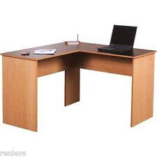 Computer Desk WorkStation L Shape Corner Desk Home Office Executive Gaming Table