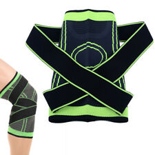 3D Breathable Running Jogging Sports Weaving Knee Brace Joint Sleeve Support.