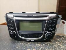 2012 2014 HYUNDAI ACCENT RADIO RECEIVER P/N 961701R1004X
