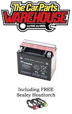 GENUINE YUASA YTX12-BS Bike & Quad BATTERY 10Ah 12V ACID Best value on ebay
