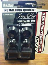 LJ SMITH (LI-PROKNE) IronPro Kneewall Kit Iron Baluster Fastener (Box of 1 pc)