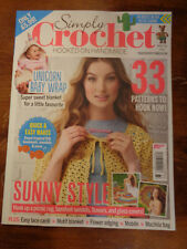SIMPLY CROCHET HOOKED ON HANDMADE ISSUE 73 2018  MAGAZINE  NEW  33 PATTERNS