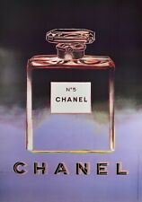 Vintage 1997 (174 cm x 118 cm) Andy Warhol for Chanel Screen Printed Poster