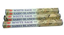 Hem White Sage Incense Sticks  x 3 Boxes 20 Sticks per box Pagan Wicca Smudge