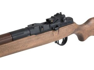 Springfield Armory M1A Underlever Pellet Rifle, Wood Stock .22 Cal