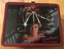 NECA Limited Edition A Nightmare on Elm St. metal lunch box with thermos bottle