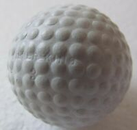 VINTAGE GOLF BALL WITH UNUSUAL COVER DESIGN-SILVER KING CIRCA 1930  REPAINTED