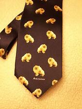 Pomeranian Dog 100 % Silk Tie Mens Tie