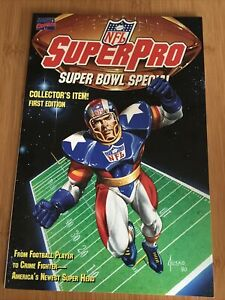 NFL Super Pro Super Bowl Special First Edition Marvel Comics 1991 Mint Bagged