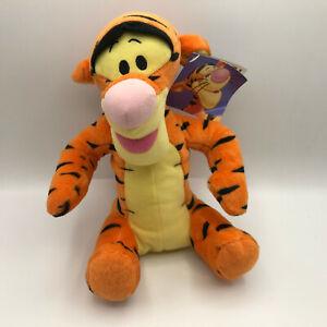 "Fisher Price Tigger Disney Plush Winnie the Pooh 10"" Stuffed Animal NEW 2001"