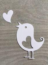 Stanzschablone/ Cutting dies Vogel mit Herz geeignet für Big Shot Stanzmaschinen