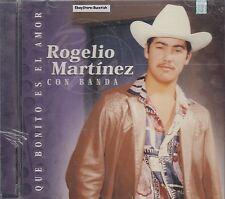 Rogelio Martinez Que Bonito Es El Amor CD Nuevo Sealed