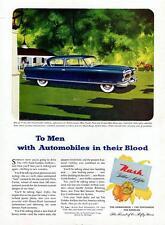Old Print. 1952 Nash Ambassador Custom Two-Door Sedan Auto Advertisement