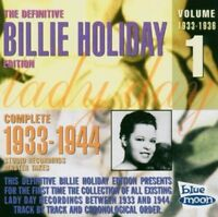 BILLIE HOLIDAY - COMPLETE MASTER TAKES 1  CD NEW!