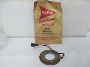 Mopar NOS 60-61 Valiant 61 Lancer Plym Dodge DeSoto Horn Cont/Ring-Cable 2258588