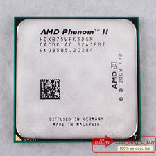 AMD Phenom II X3 B75 HDXB75WFK3DGM CPU 3 GHz 6M/667 Socket AM3 100% work free sp