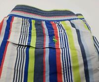 Men's Taylorbyrd Swim Trunks L Bathing Suit Board shorts Beach striped Quality