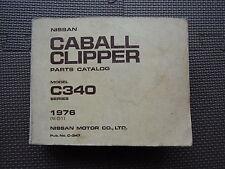 JDM NISSAN CABALL / CLIPPER C340 Series Original Genuine Parts List Catalog