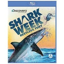 Shark Week: Restless Fury (Blu-ray 2 disc) Discovery Channel NEW