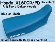 Honda XL600R XL600PD Kickstart Seatcover Coprisella Sitzbezug Housse de Selle