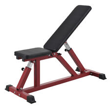 Adjustable Sit Up Bench Fitness Flat Weight FID Incline Decline Press Gym Home
