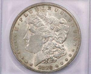 1883-S 1883 Morgan Silver Dollar ICG MS61