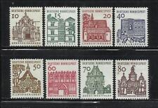 ALEMANIA, (R.F.A.). Año: 1964/5. Tema: SERIE BASICA. EDIFICIOS HISTORICOS.