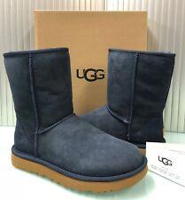 New UGG Australia Women's Classic Short II Boots Shoes 1016223 Navy 9