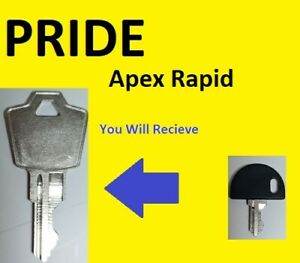 Pride Apex Rapid Mobility Scooter Key