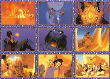Disney's Aladdin Story Cards Full 100 Card Base Set of Trading Cards from Panini