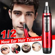 Electric Ear Nose Hair Trimmer Rechargeable Eyebrow Clipper Facial Nasal Shaver