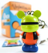 "Disney VINYLMATION JR SERIES 2 GOOFY Keychain 1.5"" Vinyl Figure Color Block NEW"