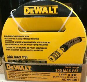 DeWalt - DWFP1450D - 50 ft. x 1/4 in. Air Hose - Yellow