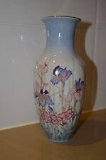 Concer Japan Porcelain Vase Iris Flowers Estate