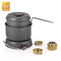 BULIN BL100-Q1 Outdoor Cooker Camping Picnic Dual-use Alcohol Burner Gas Stove