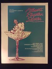 ATLANTA RHYTHM SECTION ORIGINAL CONCERT POSTER FROM 1979 - MINT CONDITION
