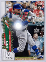 2020 Topps Holiday MOOKIE BETTS SP Variation (Scarf) DODGERS 🏆 MVP