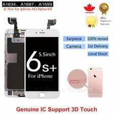 For iPhone 6S Plus LCD Screen Display Touch Digitizer Replacement + Camera White