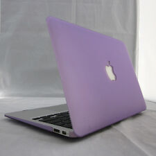 """Rubberized Matte Hard Case Cover Skin For MacBook Air White Pro 11"""" 13"""" 15""""inch"""