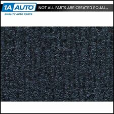 for 1984-89 Toyota 4Runner Cutpile 840-Navy Blue Passenger Area Carpet Molded