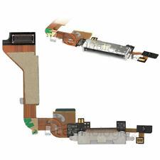 iPhone 4 Ladebuchse Flex Dock Connector Mikrofon Charger Buchse 4G Weiss