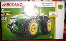 Meccano Engeenering Robotics 18302 8r Series Tractor Tracteur John Deerre