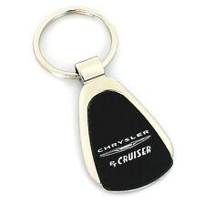 Chrysler PT Cruiser Black Tear Drop Metal Key Ring