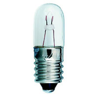 Small 6.3V 1W 150MA E10 Light Bulb 10X28mm (Pack of 5)