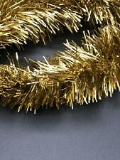 18 Feet Vintage Gold Tinsel Christmas Tree Garland