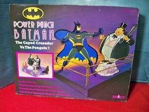 Power Punch Batman vs Penguin Animated Series Game Kay Bee Toys Exclusive 1992