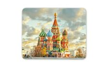 Saint Basil's Cathedral Mouse Mat Pad - Russia Russian Cool Gift Computer #8791