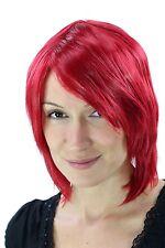 Travieso corto/longitud media peluca roja Peluca de mujer NUEVO